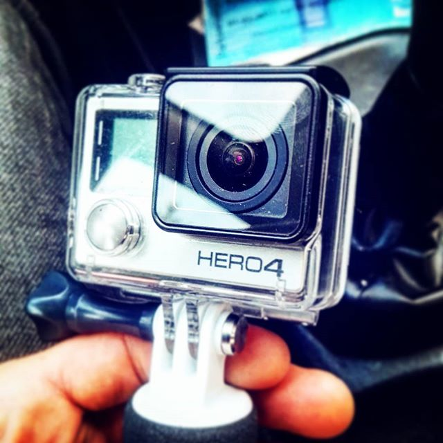 Say hello to my little friend! Bought it for my journey to #Bali, but great for other purposes! #yeah #gopro #hero4 #video #editing #hd #2k #motion #capture